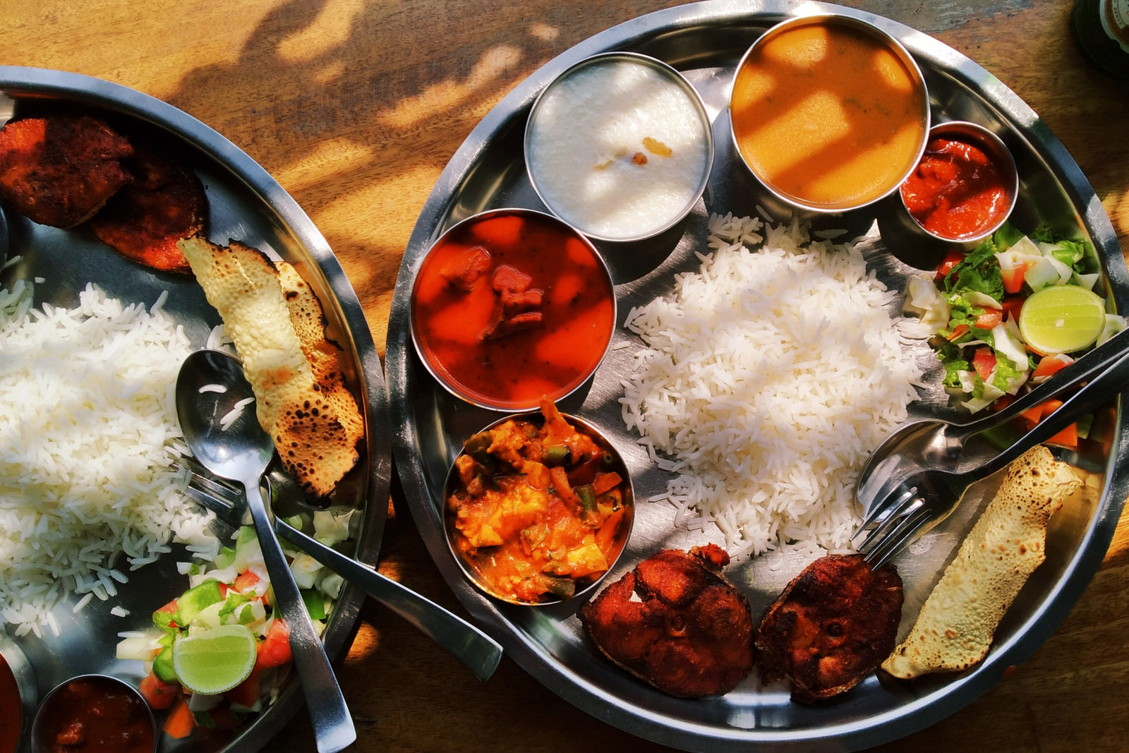 Indie jedzenie Arambol Goa