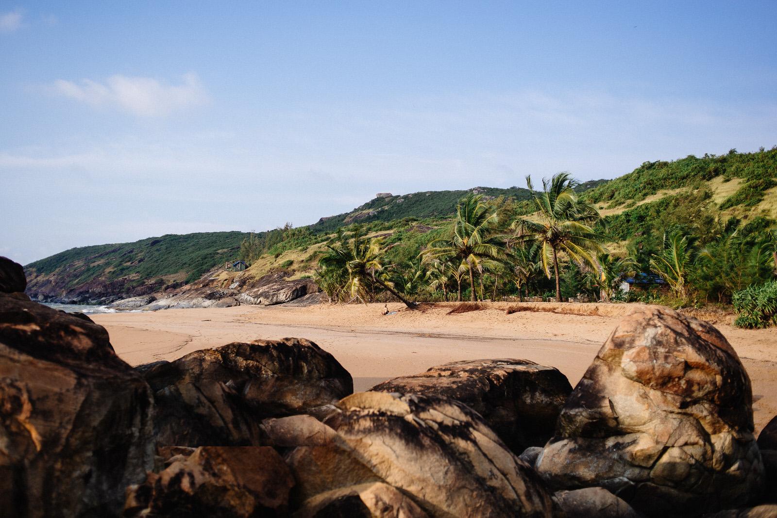 Honey Beach plaża w Indiach