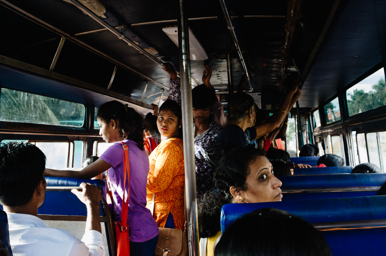 podróż autobusem przez Indie
